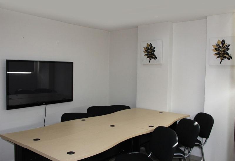 oficinas amuebladas